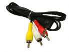 CABLE DE AUDIO Y VIDEO PLUG 3.5mm A 3 RCA 1.1m