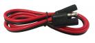 CONECTOR CLARION CAL 14 AWG DE 0.60m.