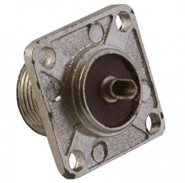 CONECTOR HEMBRA TIPO UHF P/CHASIS