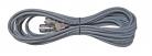 EXT. CABLE GEMELO RG-58U GRIS 3.75m. 3C