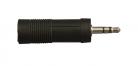 ADAPTADOR JACK 6.3mm A PLUG 3.5mm ESTEREO