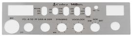 CARATULA ORIGINAL PARA RADIO COBRA 148