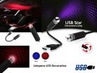 LAMPARA LED DECORATILD USB CIELO ROJO